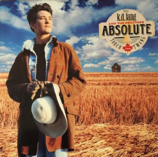 k.d. lang And The Reclines ‎- Absolute Torch And Twang (LP) (EX/VG+)